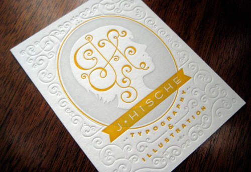Jessica Hische: Business Cards