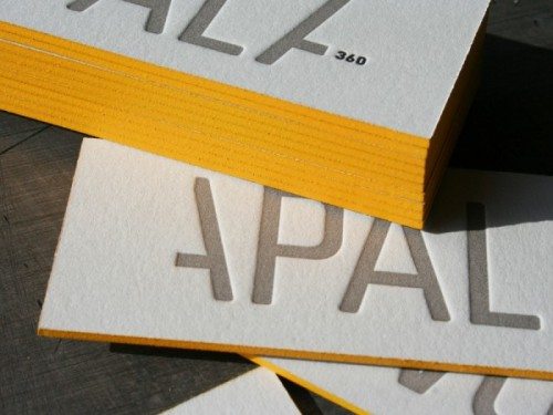 Studio On Fire: Apala Business Cards