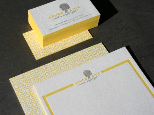 Studio On Fire: Aphro Chic Business Cards