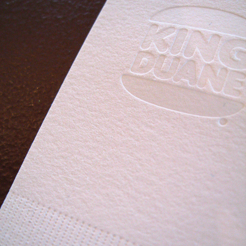 The Mandate Press: BBDK Duane King Business Cards
