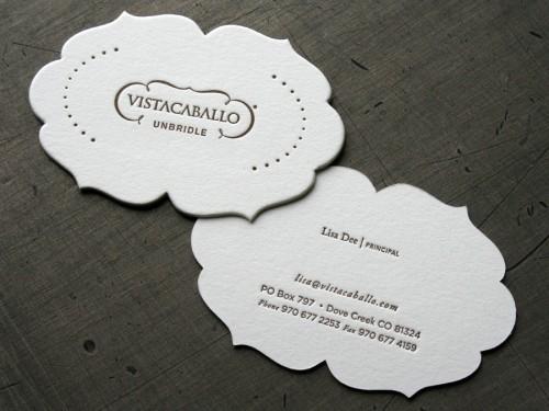 Letterpress business cards pressing letters a collection of studio on fire vista caballo colourmoves